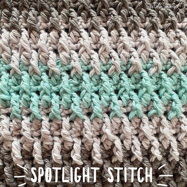 Spotlight Stitch: Alpine Stitch