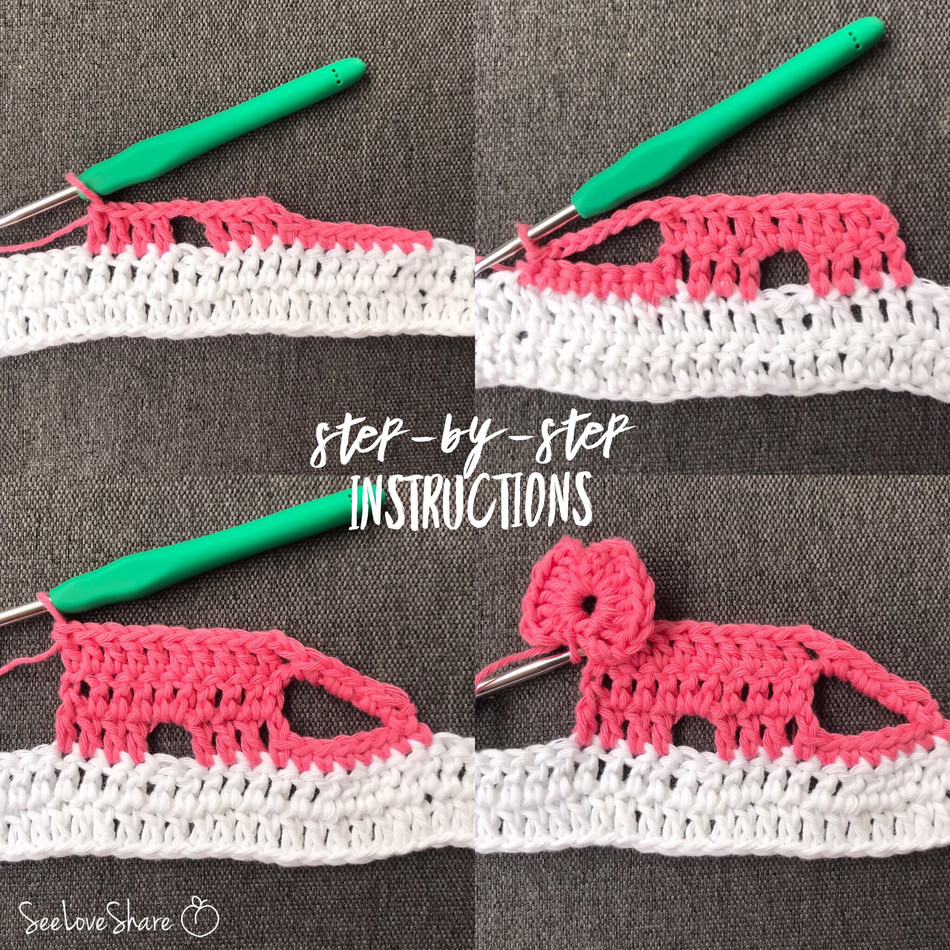 Spotlight Stitch: Elephant Border