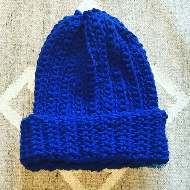 Ribbed, Slouchy Beanie (Hat)