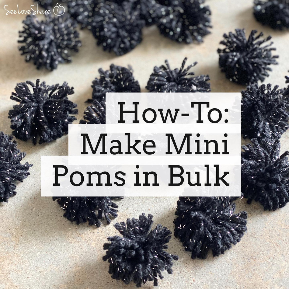 How-To: Make Mini Poms in Bulk