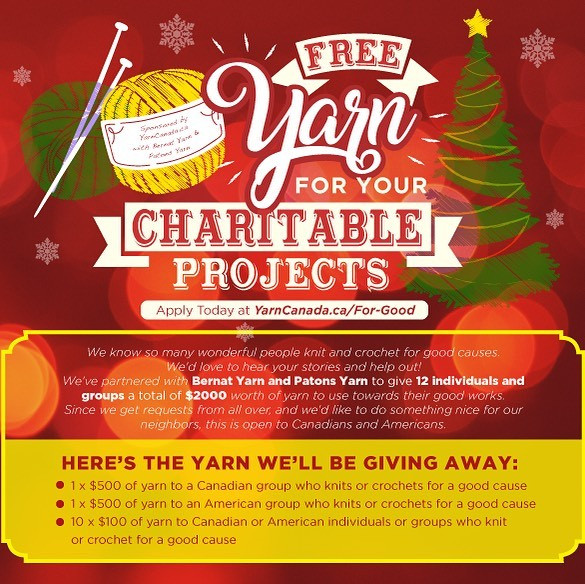 Yarn To Your Good Cause