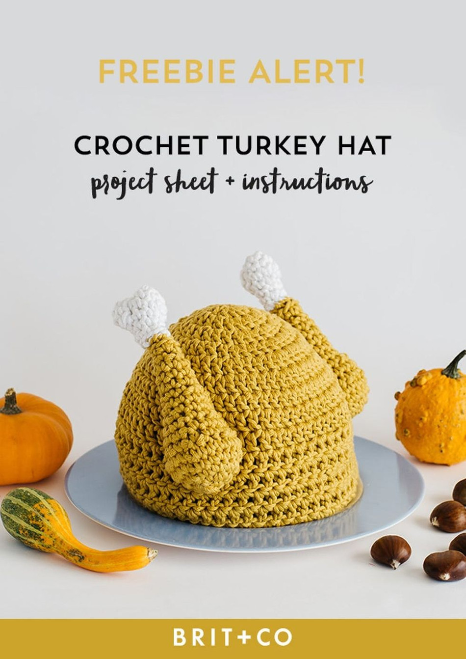 Thanksgiving Themed Crochet Creations