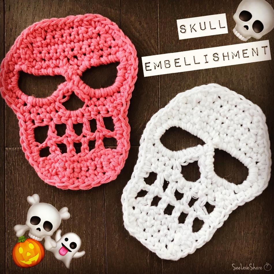 Skull Embellishment