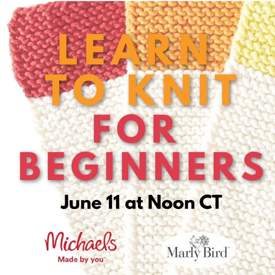 Learn to Knit with Yarnspirations & Michaels
