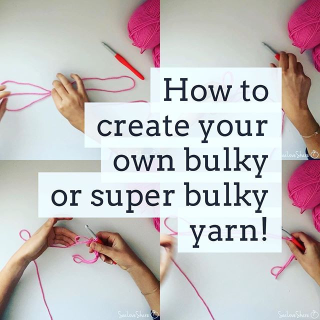 Tips & Tricks: How to Create Your Own Bulky or Super Bulky Weight Yarn