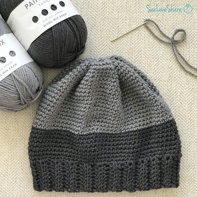 Two Toned Beanie: For Him (or Her!)