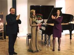 Концерт для Русско-Немецкого Клуба в Доме Прокофьева (Камергерский переулок), Москва