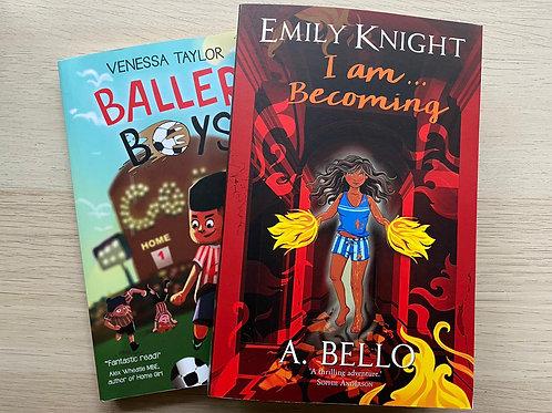 Black History Month kids bundle: Baller Boys & Emily Knight I am... Becoming