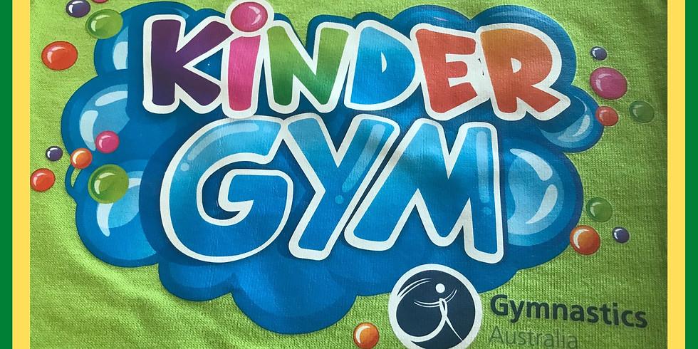 9:00 am for 9:15 am start  - 10 am  KinderGym Monday 8 February 2021