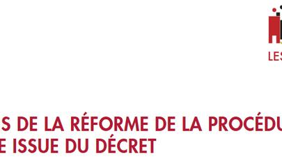Points clés de la nouvelle réforme de procédure de divorce / entrée en vigueur le 1er septembre 2020