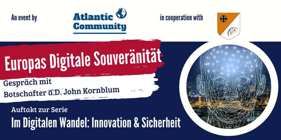 Europas digitale Souveränität - Gespräch mit Botschafter a.D. John Kornblum