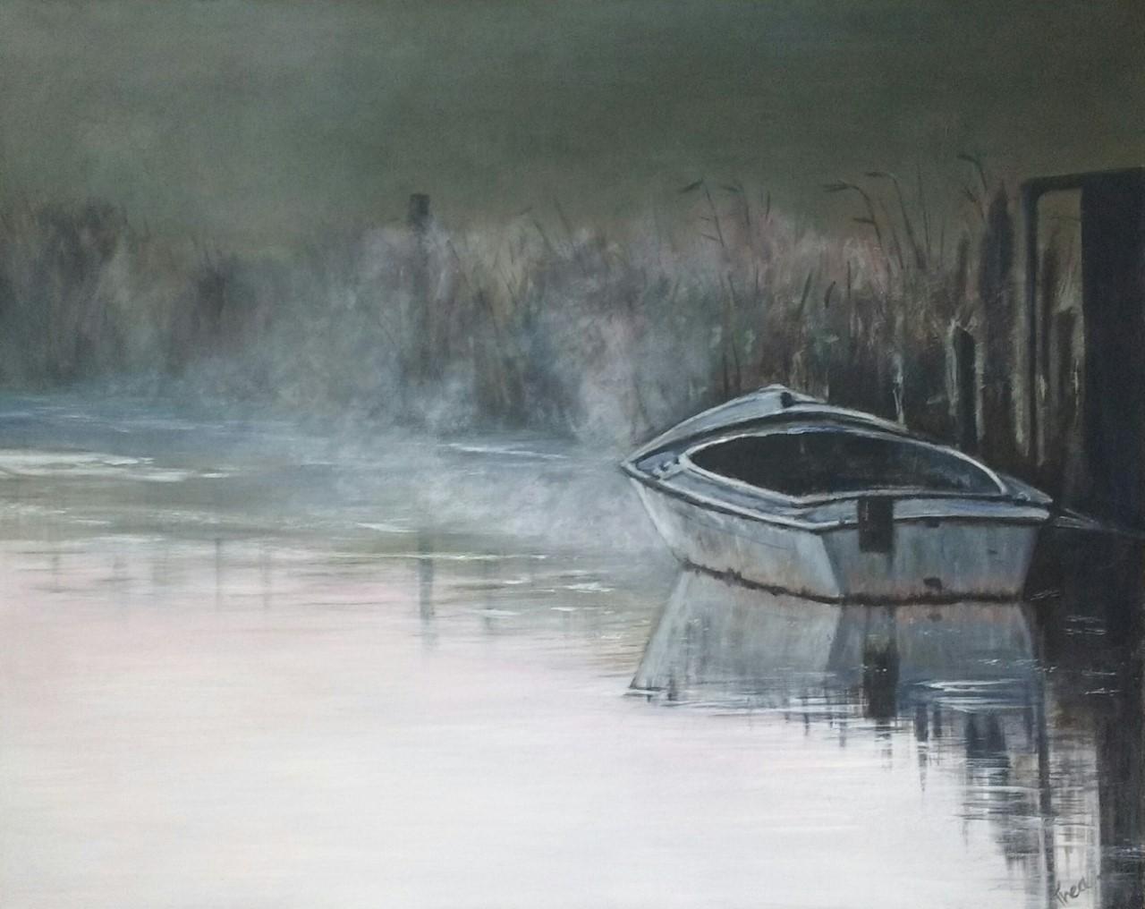 Bootje in de oudvaart