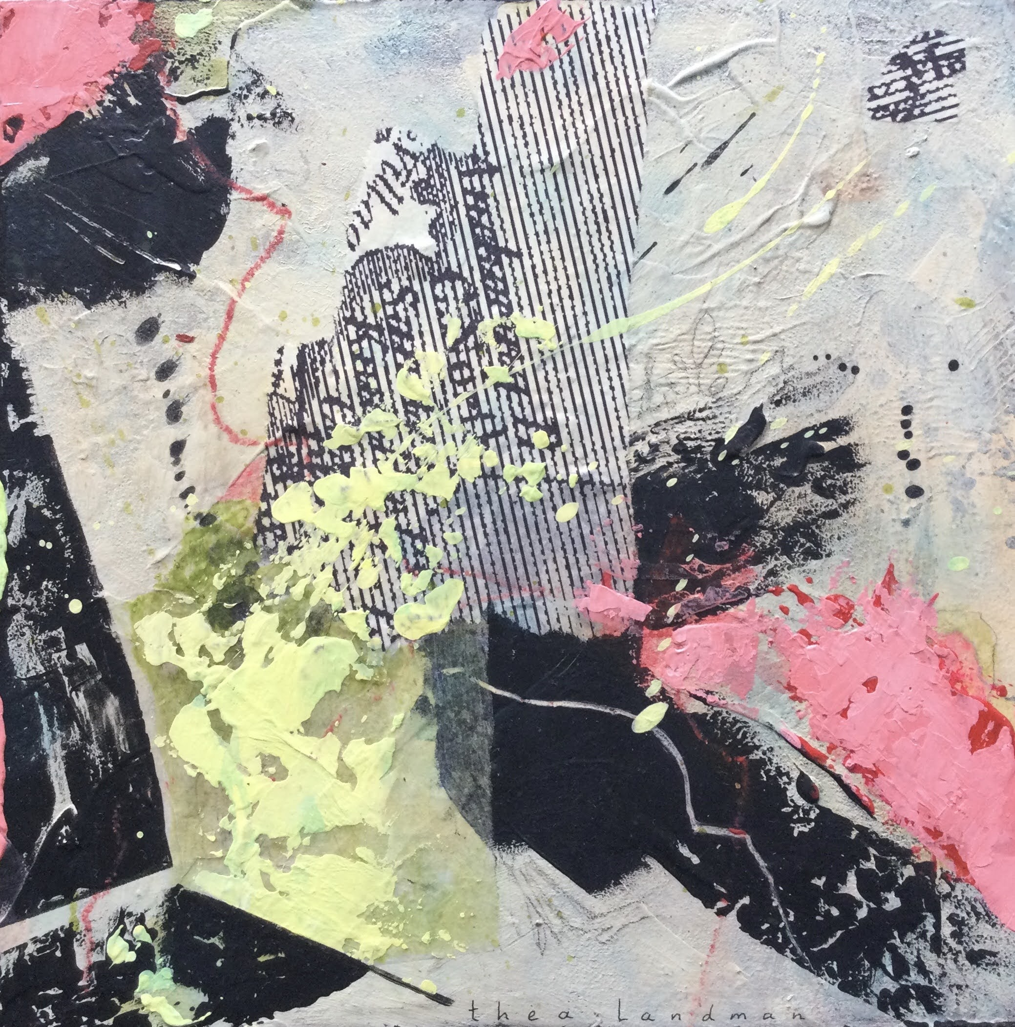Blokjes serie nr.5 landschap