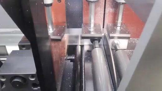 Separación automática de perfil con disco