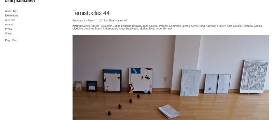 Neri Barranco @Temístocles 44