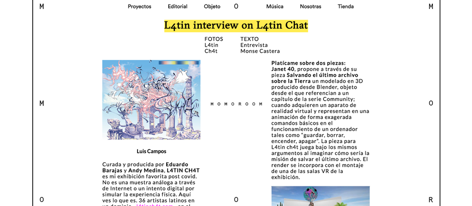 L4tin interview on L4tin Chat