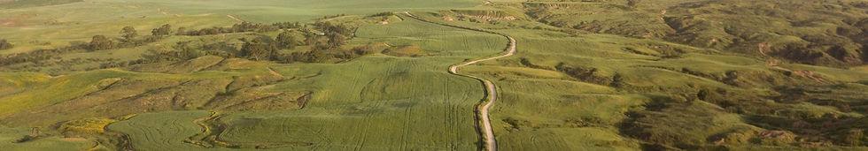 תמונת על של שדות הנגב המערבי