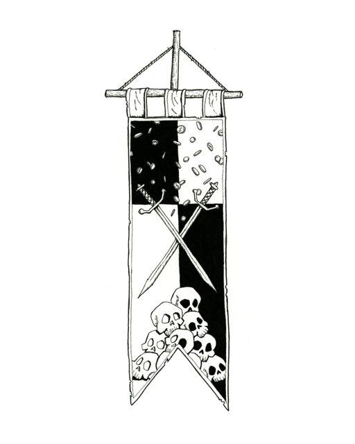Mercinary Flag