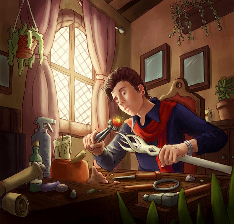 Magical Staff Builder