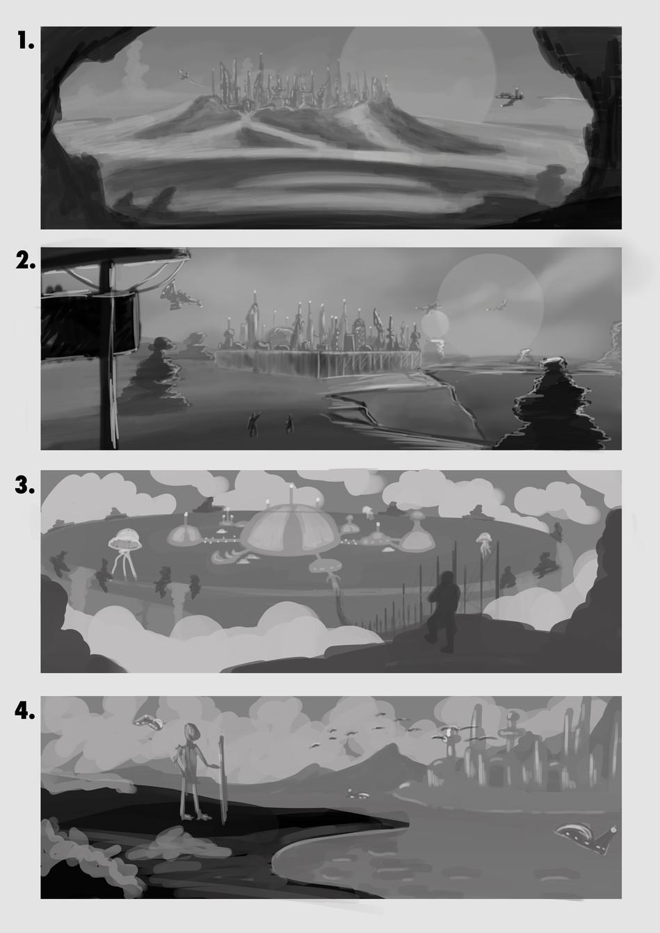 Old Chicago/New Atlantis Environment Concept