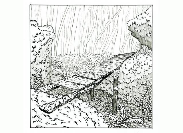 Overgrown, Ink