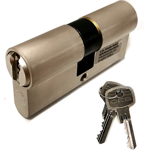 Barrel and 2 Keys For Steel Personnel Door