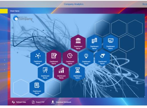 Custom Web-Based Tableau Portal