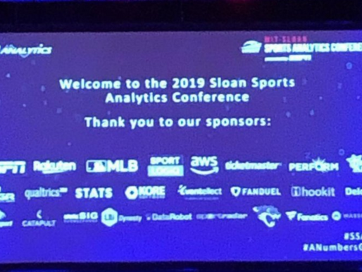 Plotting For Success:                           A Review of MIT Sloan Sports Analytics Conference