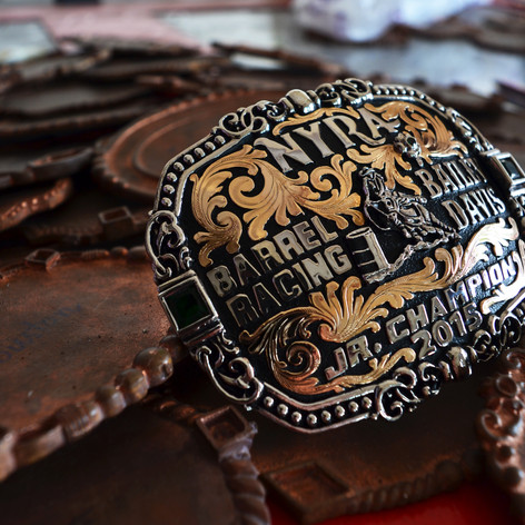 Bob Berg's Copper Buckle