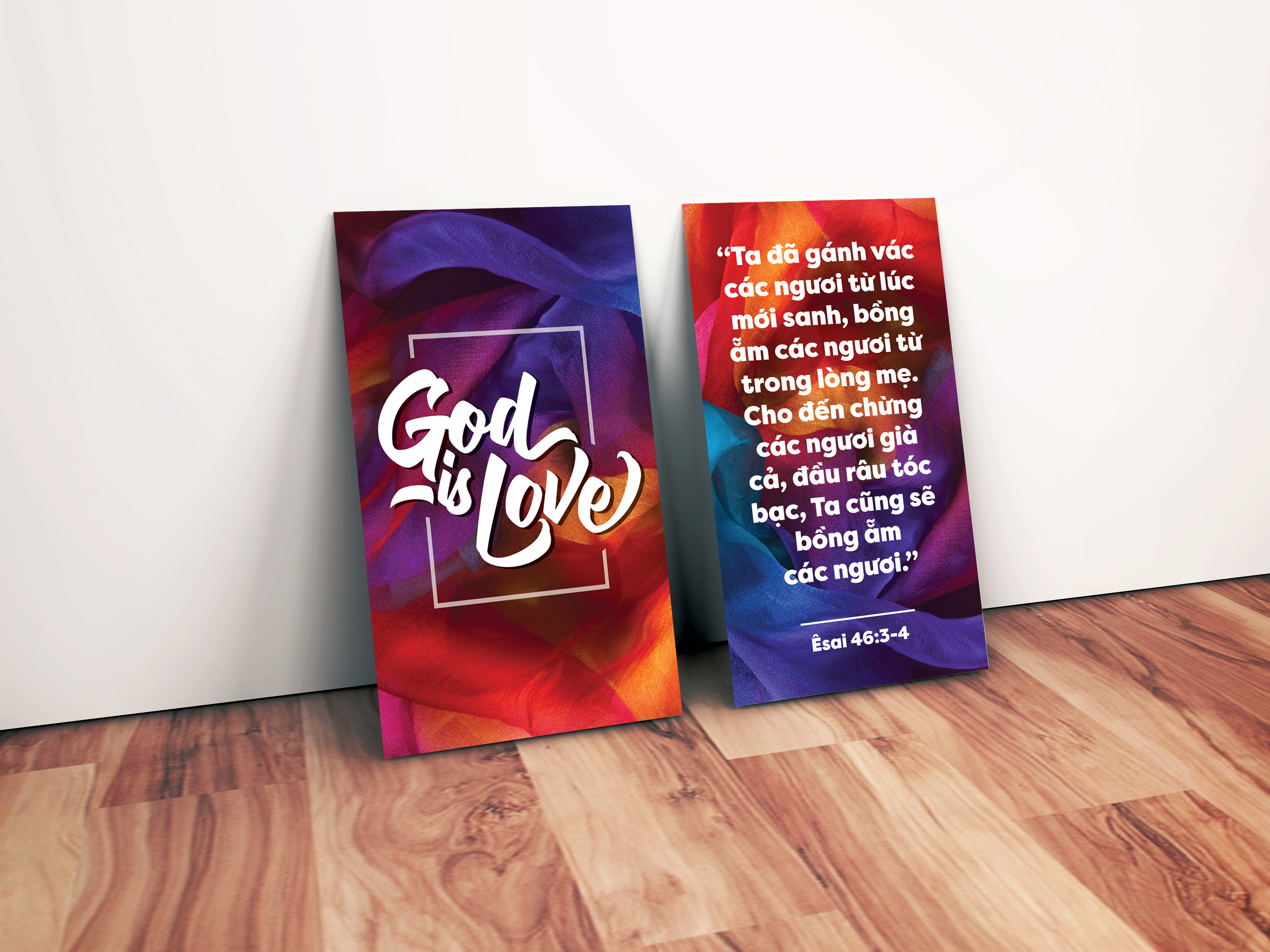 God is love Cards.jpg
