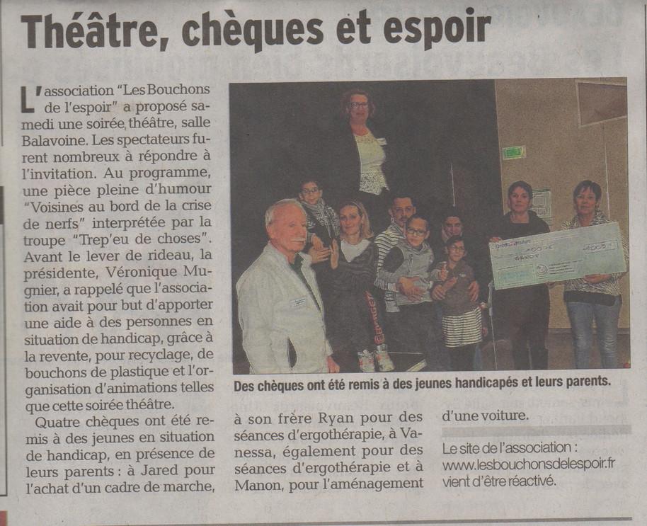 Soirée Théâtre du samedi 2 décembre