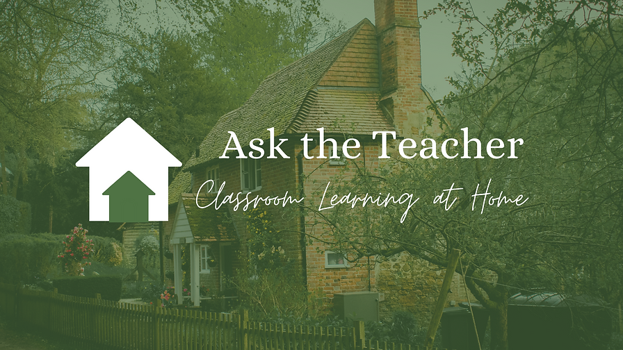 Logo for Ask the Teacher, a network of educators, parents, and learners.