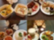 Sajaki gouda rijsttafel uit eten indones