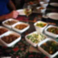 Rijsttafel sajaki buffet indonesisch eet