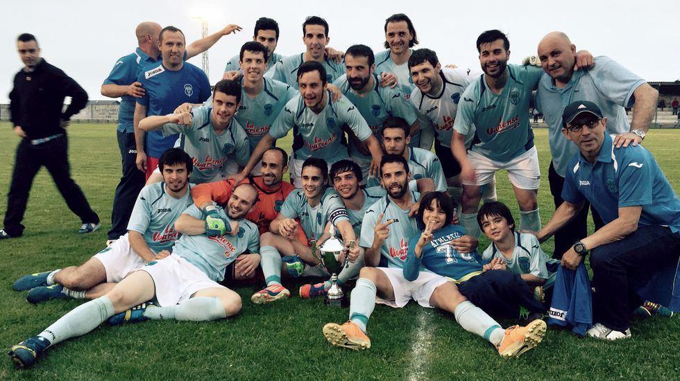 Celebración Copa Diputación 2015
