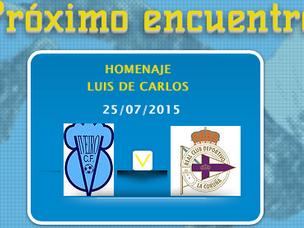 PARTIDO VIVEIRO-DEPOR B  HOMENAJE A LUIS DE CARLOS Estadio de Cantarrana 25/07/2015 a las 19:00