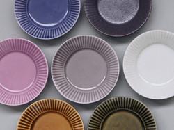 ライン小皿(7色)