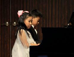 Siblings Piano Duet