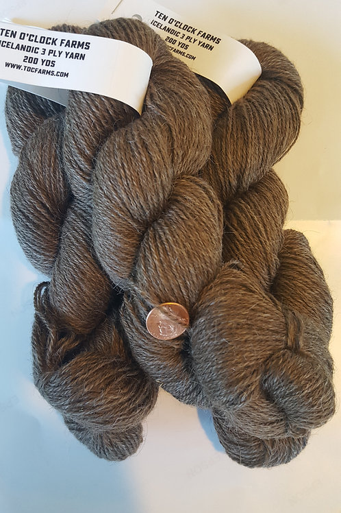 "Icelandic 3 Ply Yarn ""Portia"" Moorit"