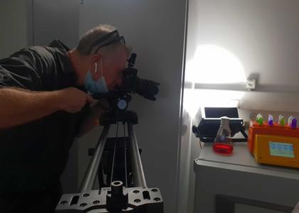 The Shlezinger lab movie- Shooting