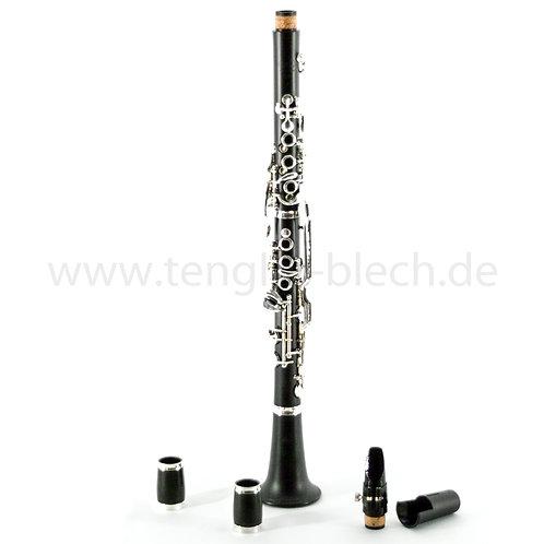 [294] Deutsche-Kinder-Klarinette in B von W. Schreiber D12 B #231799