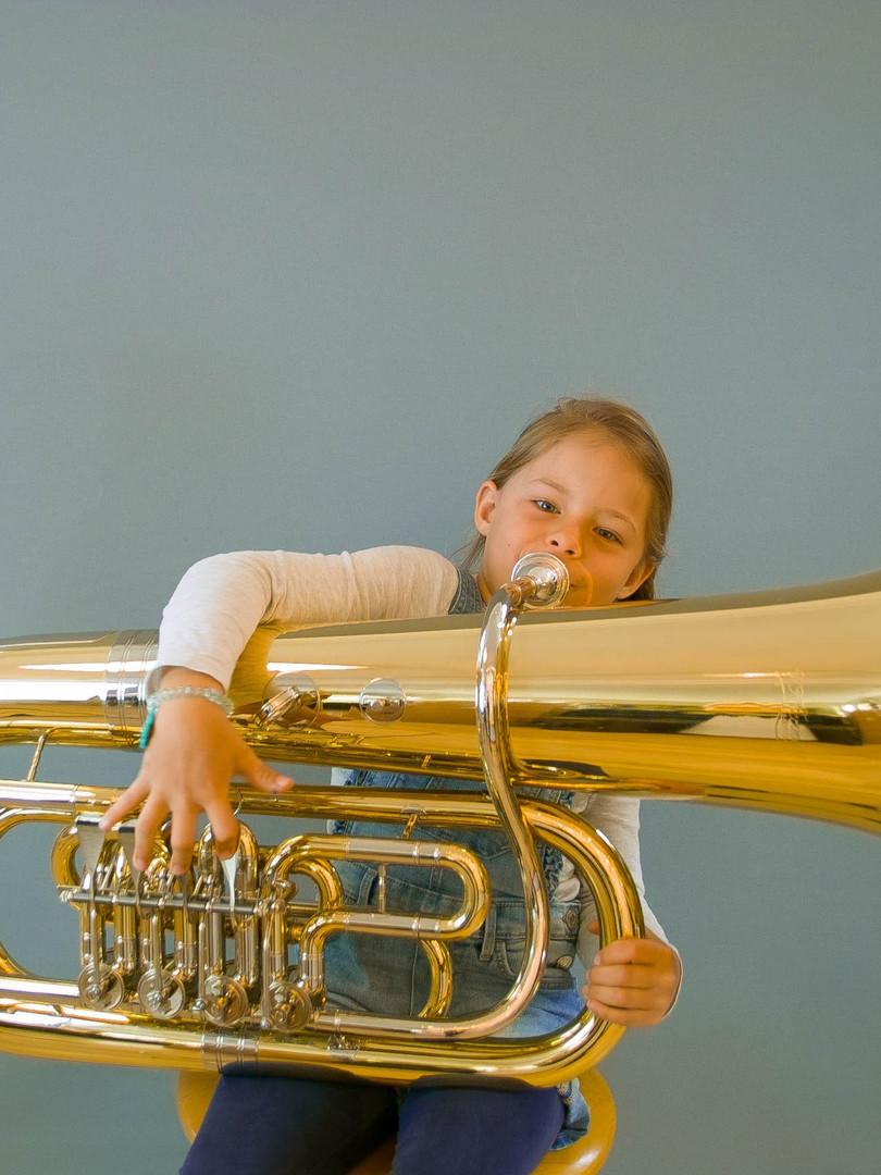 Mieten Sie ein Blasinstrument