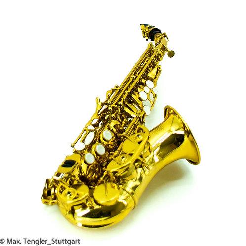 [[272] Sopran Saxophone gebogen in Bb von MTP S-300 L #161201