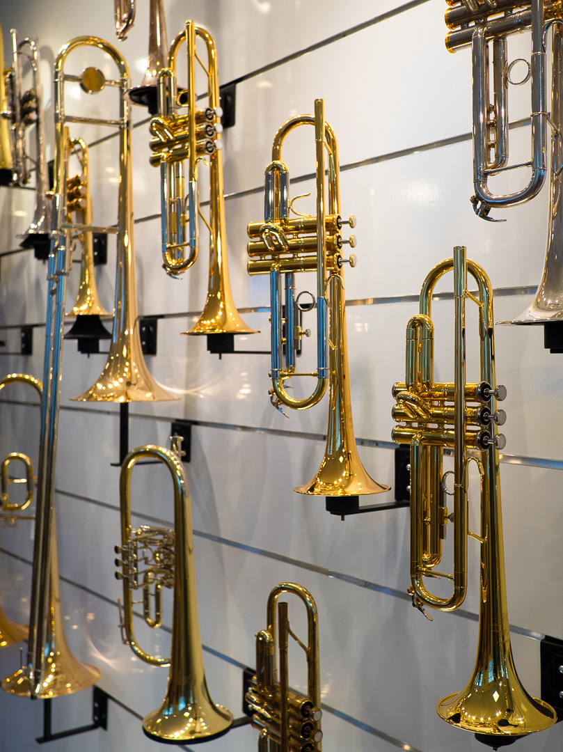 Verkauf von neuen und gebrauchten Blasinstrumenten in Stuttgart