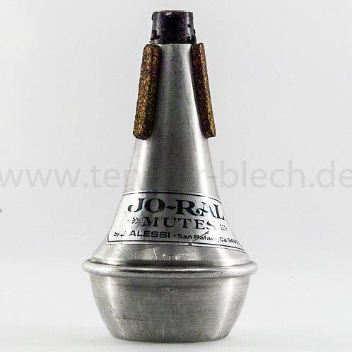 Gebraucht Cup Mute für Trompete Jo-Ral USA, Aluminium