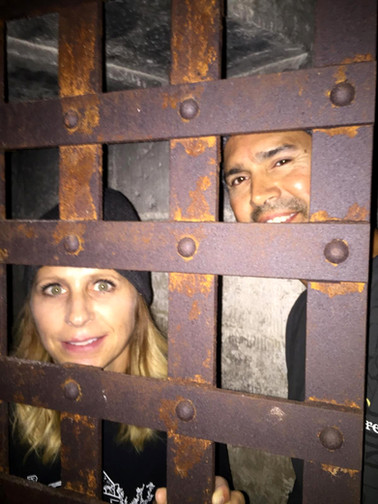 Jail and Dungeon Selfie