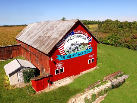 Sandusky County's Historic Barn Mural Trail is the PERFECT day trip while socially distancing