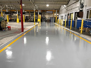 ACTransformations Industrial Epoxy Job