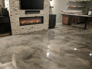 The Epoxy Floor Trends Insider: 3 New Fab Floors to Knock your Socks Off!