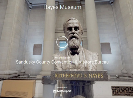 A Virtual Tour of the Rutherford B Hayes Museum in Fremont, Ohio